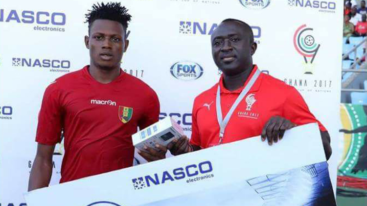 Ibrahima Aminata CONDE : homme du match contre G.Bissau